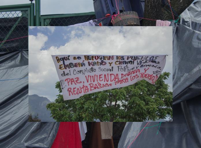 Así resiste el pueblo Embera en Bogotá, en voz de sus lideresas