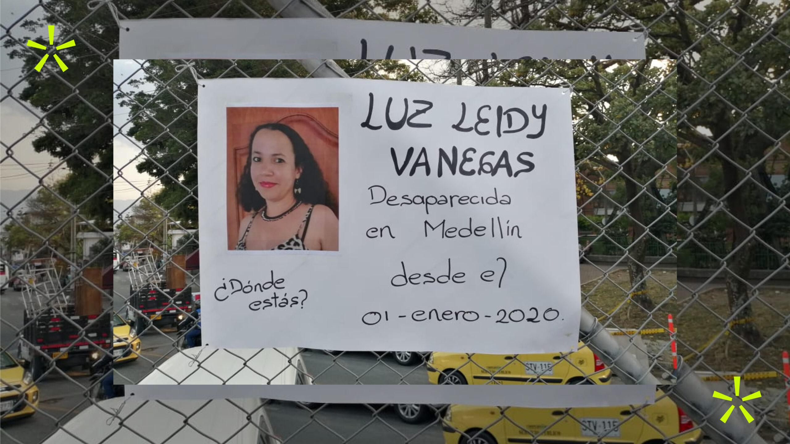 """Un año sin Luz Leidy Vanegas: """"Hacer un duelo es decir que ya no la voy a buscar"""""""
