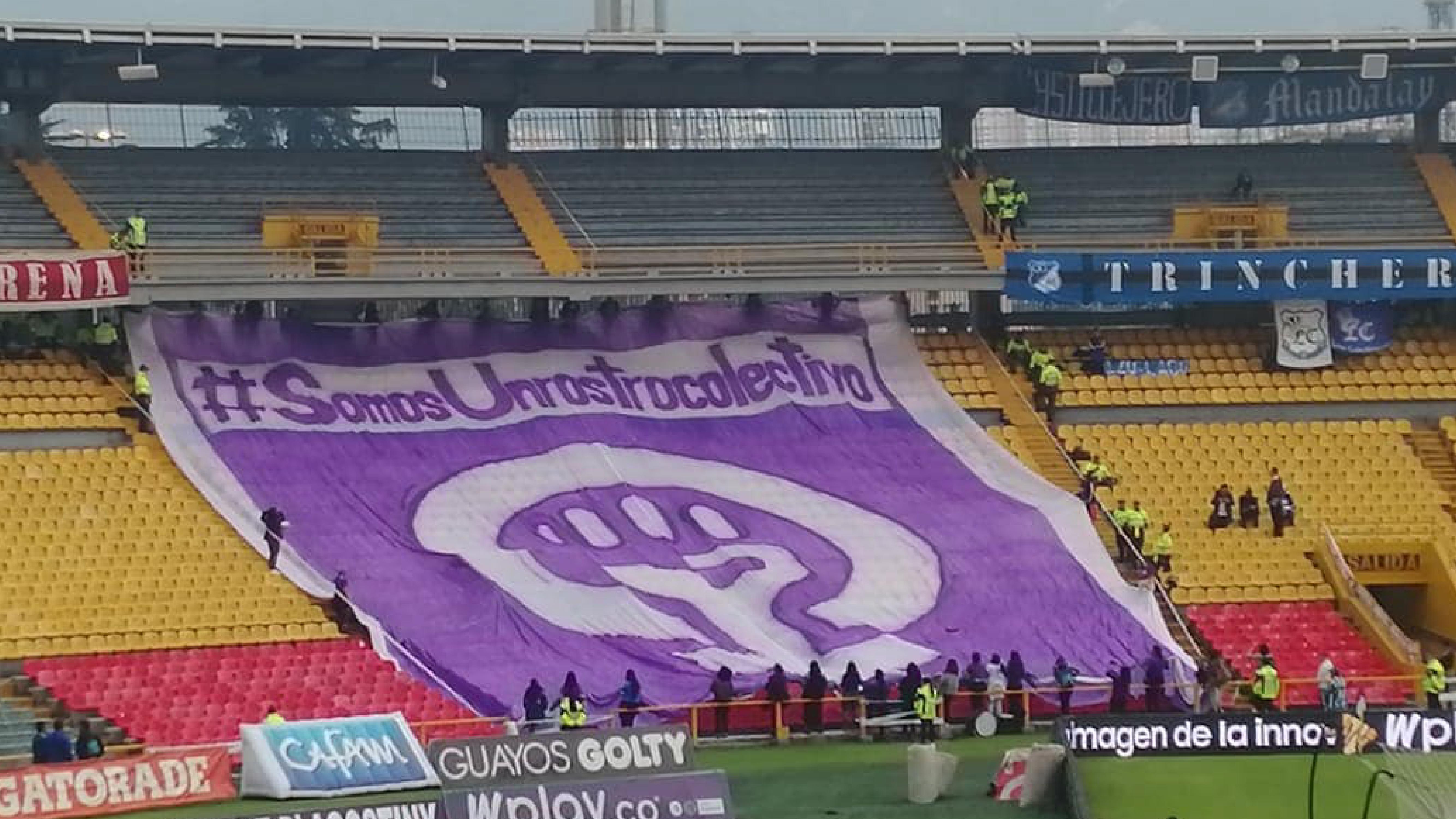 La tribuna también es violeta: estas son las hinchadas feministas de Colombia