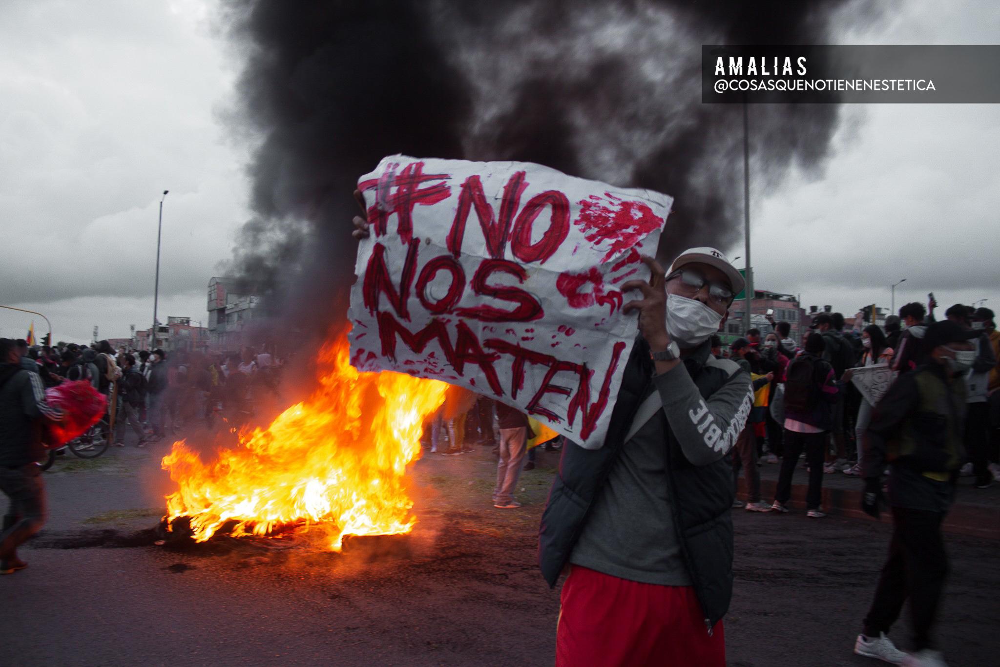 Así se ve el Paro Nacional en los lentes de estas fotógrafas colombianas